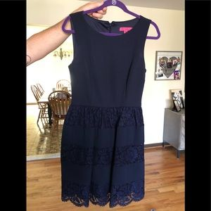 Navy lace Anthropologie !
